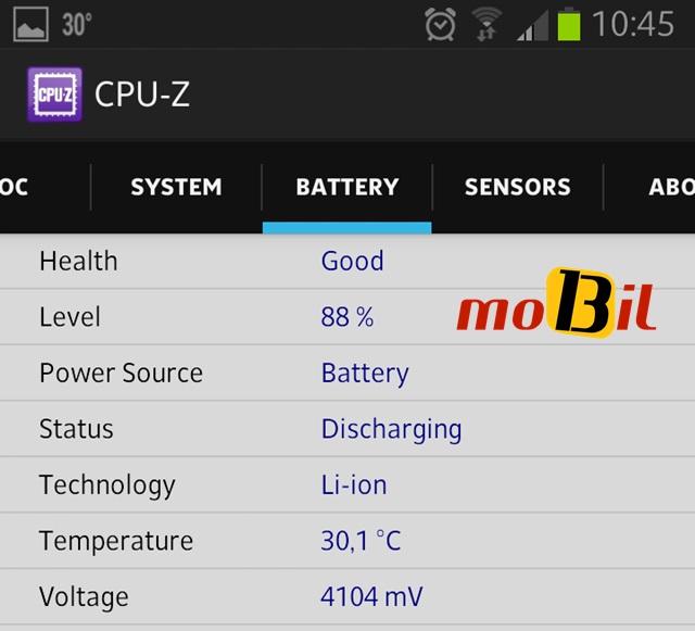 Android CPU-Z Sistem Bilgisi Uygulamasi - inceleme - mobil13 3