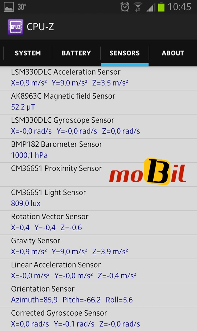 Android CPU-Z Sistem Bilgisi Uygulamasi - inceleme - mobil13 4