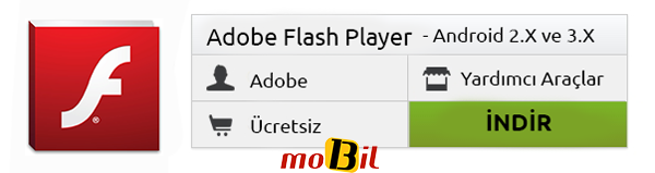 Android Flash Player 2x ve 3x indir