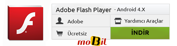Android Flash Player 4x indir