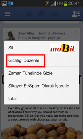 Facebook Android Gizlilik-3 - logo