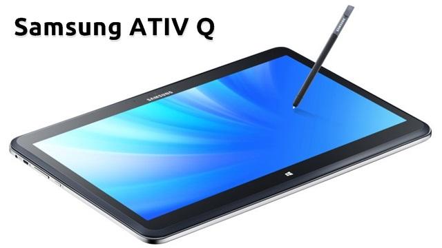 Samsung ATIV Q Tablet Tanıtıldı – İşte Özellikleri ve Fotoğrafları