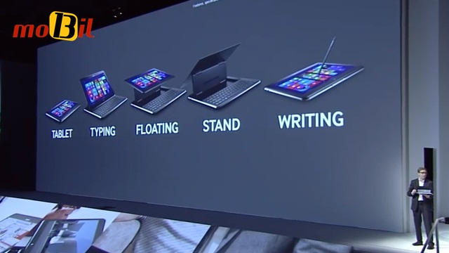Samsung ATIV Q kullanim