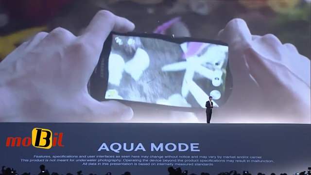 Samsung Galaxy S4 Active aqua mode