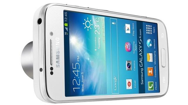 Samsung Galaxy S4 Zoom isimli yeni kamera telefon resmen tanıtıldı