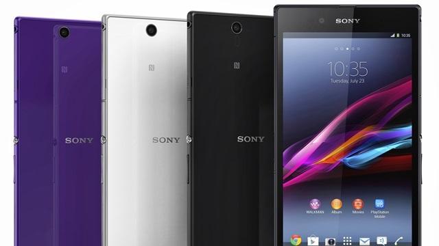 Sony Xperia Z Ultra Resmen Tanıtıldı! İşte Özellikleri