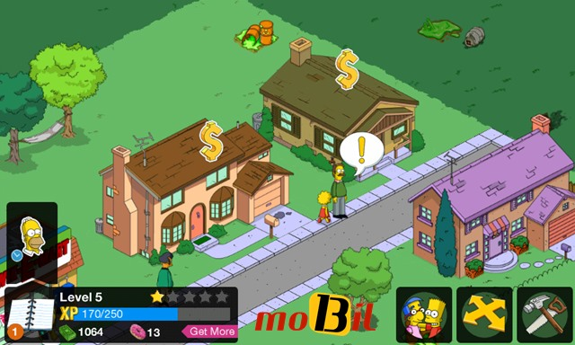 The Simpsons tapped out Android mobil13-13