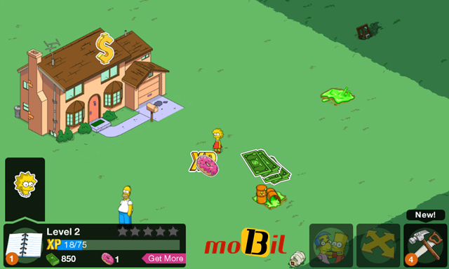 The Simpsons tapped out Android mobil13-6