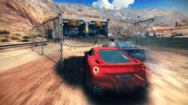 asphalt 8 android - iphone