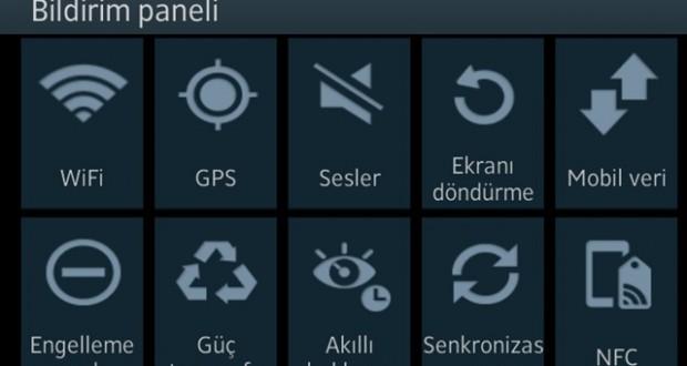 galaxy note 2 android bildirim paneli mobil13