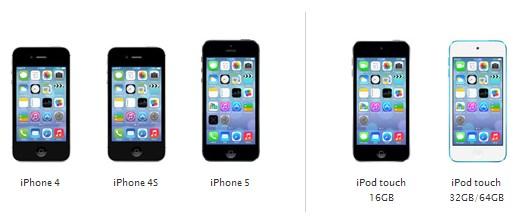 ios 7 iphone surumleri