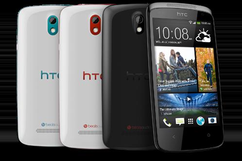 HTC Desire 500 renkler