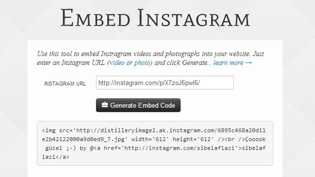 Instagram video web sitesi adim-2