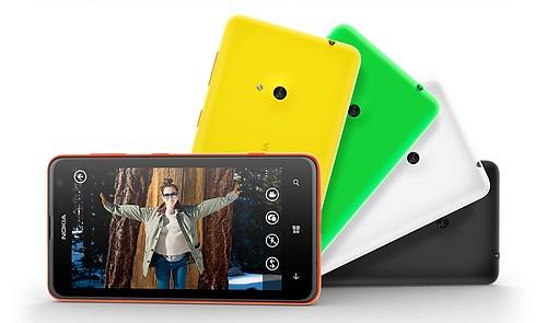 Nokia Lumia 625 fotograf