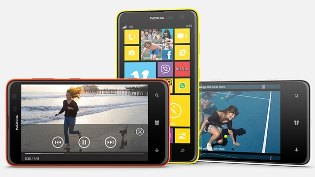 Nokia Lumia 625 wp8
