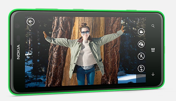 Nokia Lumia 625 yesil