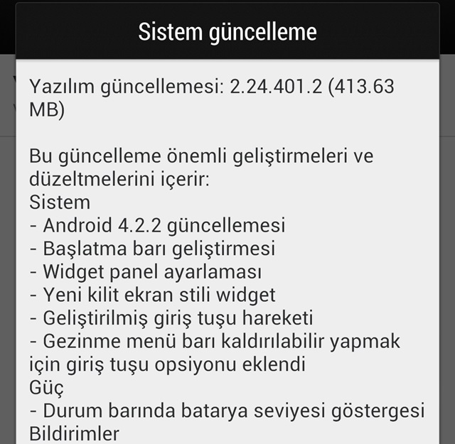 htc one android 4.2.2 guncellemesi turkiye