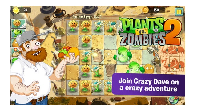 Plants vs. Zombies 2 yeni
