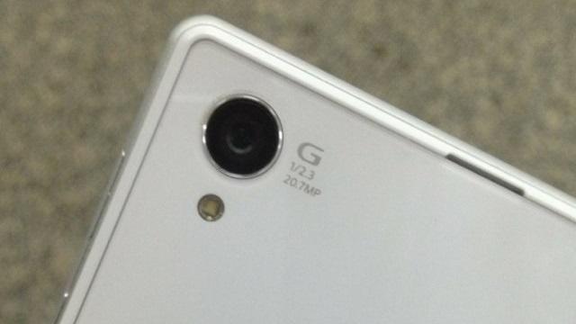 Sony Xperia Honami kamera