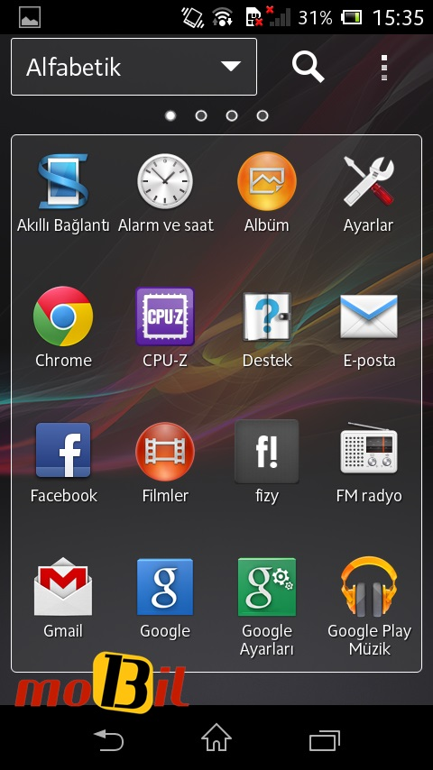 sony xperia l mobil13 ekran 3