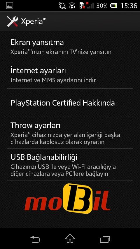 sony xperia l mobil13 ekran 5