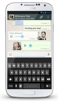 whatsapp bas konus sesli mesaj mobil13