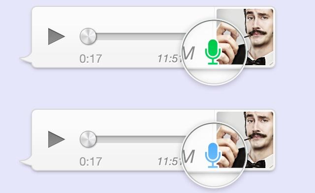 whatsapp iphone sesli mesaj 2
