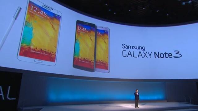 Samsung Galaxy Note 3 Tanıtıldı! İşte Özellikleri, Fotoğrafları ve Çıkış Tarihi