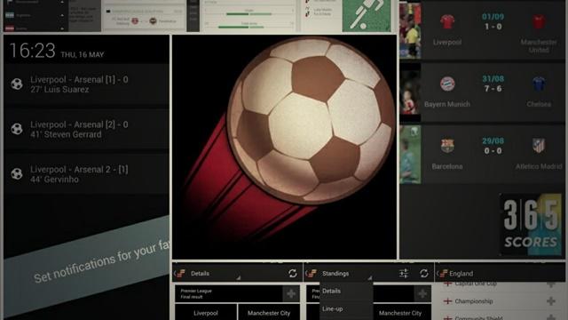 Türkçe Popüler Android ve iPhone – iPad Canlı Maç Sonucu Uygulamaları