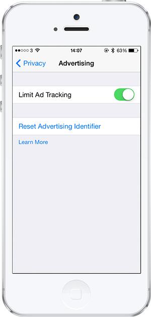 iOS 7 -13- takibi sinirlama