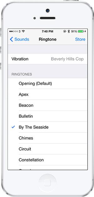 iOS 7 -2- zil sesleri