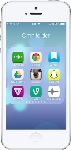 iOS 7 -6- klasorleme