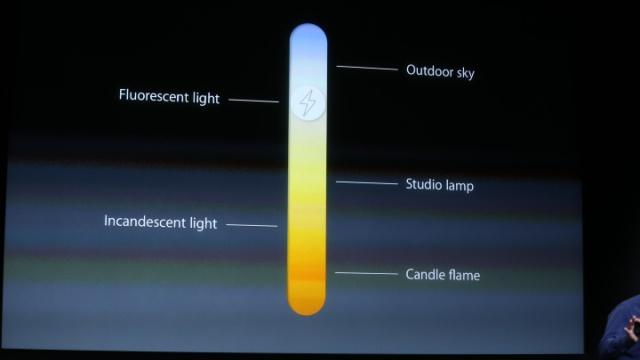 iPhone 5S kamera flas