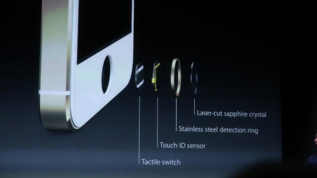 iPhone 5S parmak izi ana tus