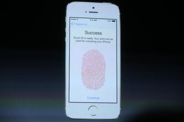 iPhone 5S parmak izi ornek