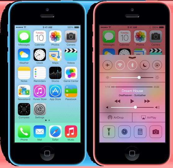 mavi iPhone 5C