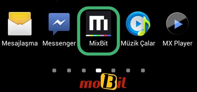mixbit android uygulamasi mobil13 logo