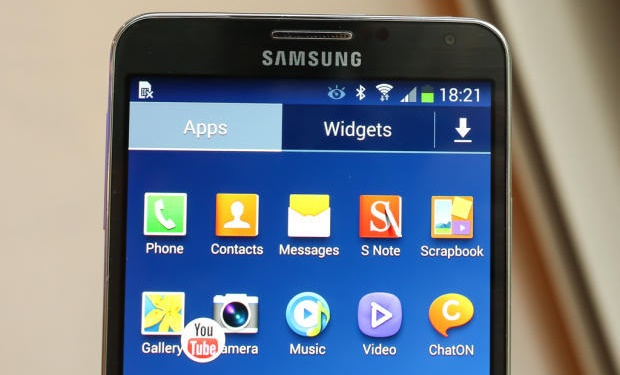 samsung galaxy note 3 uygulamalar