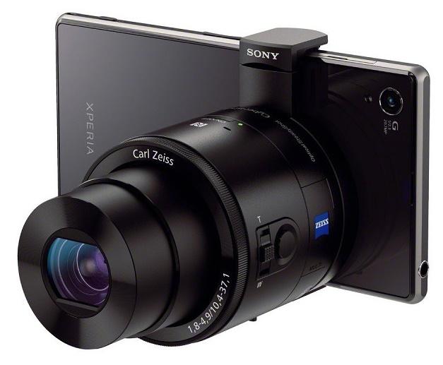 sony xperia z1 kamera ve lens