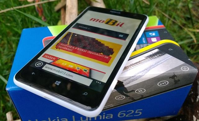 Nokia Lumia 625 fotograflari - inceleme
