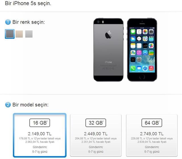 apple store iphone satis