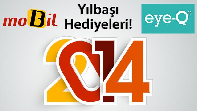 mobil13 ve eye-Q'dan Harika 2014 Yılbaşı Hediyeleri