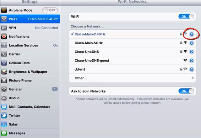 iPhone ve İpad ile Yasaklı Sitelere