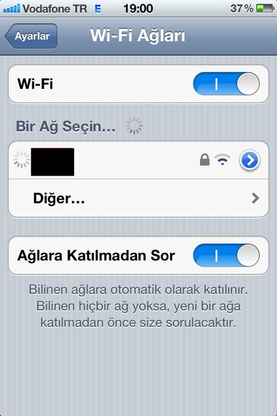 iPhone ve İpad ile Yasaklı Sitelere Giriş Yöntemi
