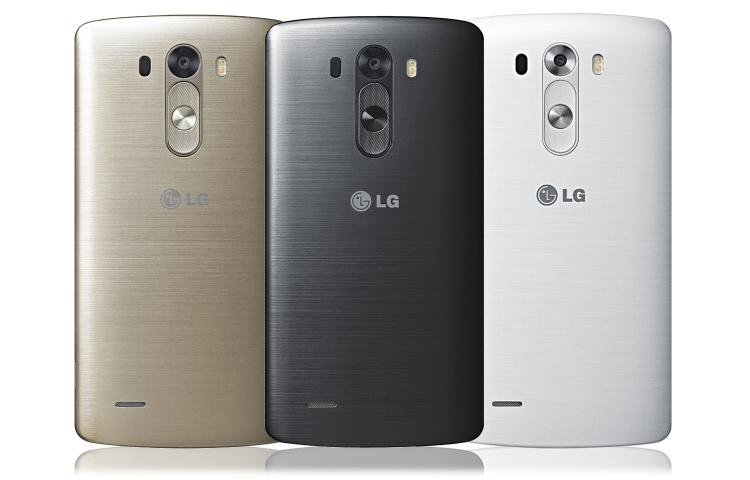 LG G3 renk secenekleri