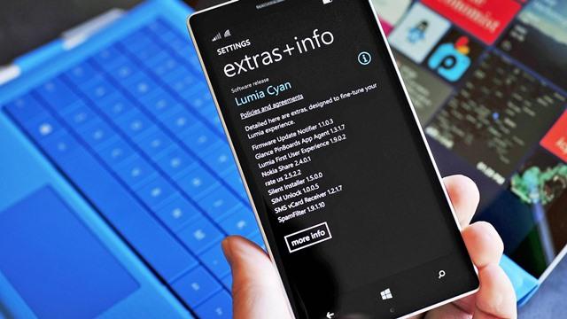 Nokia Lumia'lar için Windows Phone 8.1 Güncellemesi Gelmeye Başladı