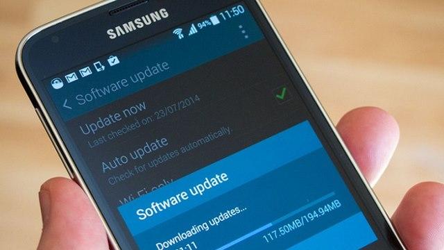 Samsung Galaxy S5 guncelleme