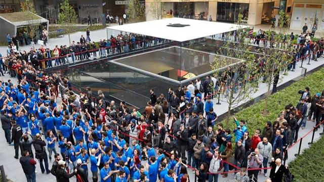 Türkiye'de ikinci Apple Store Acıbadem AVM'de açılacak