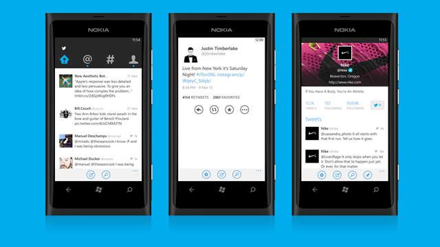 Windows Phone 8 Twitter Güncellemesi Yayınlandı
