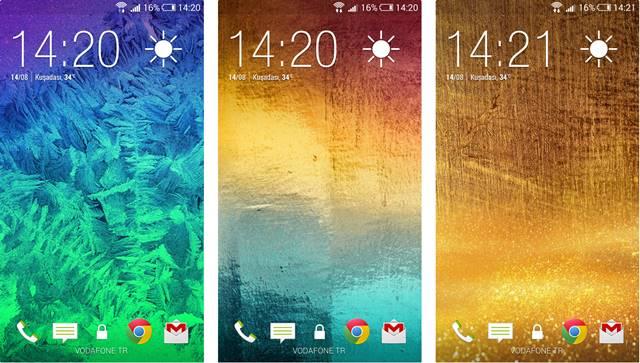 Samsung Galaxy Alpha Duvar Kagitlari ekran